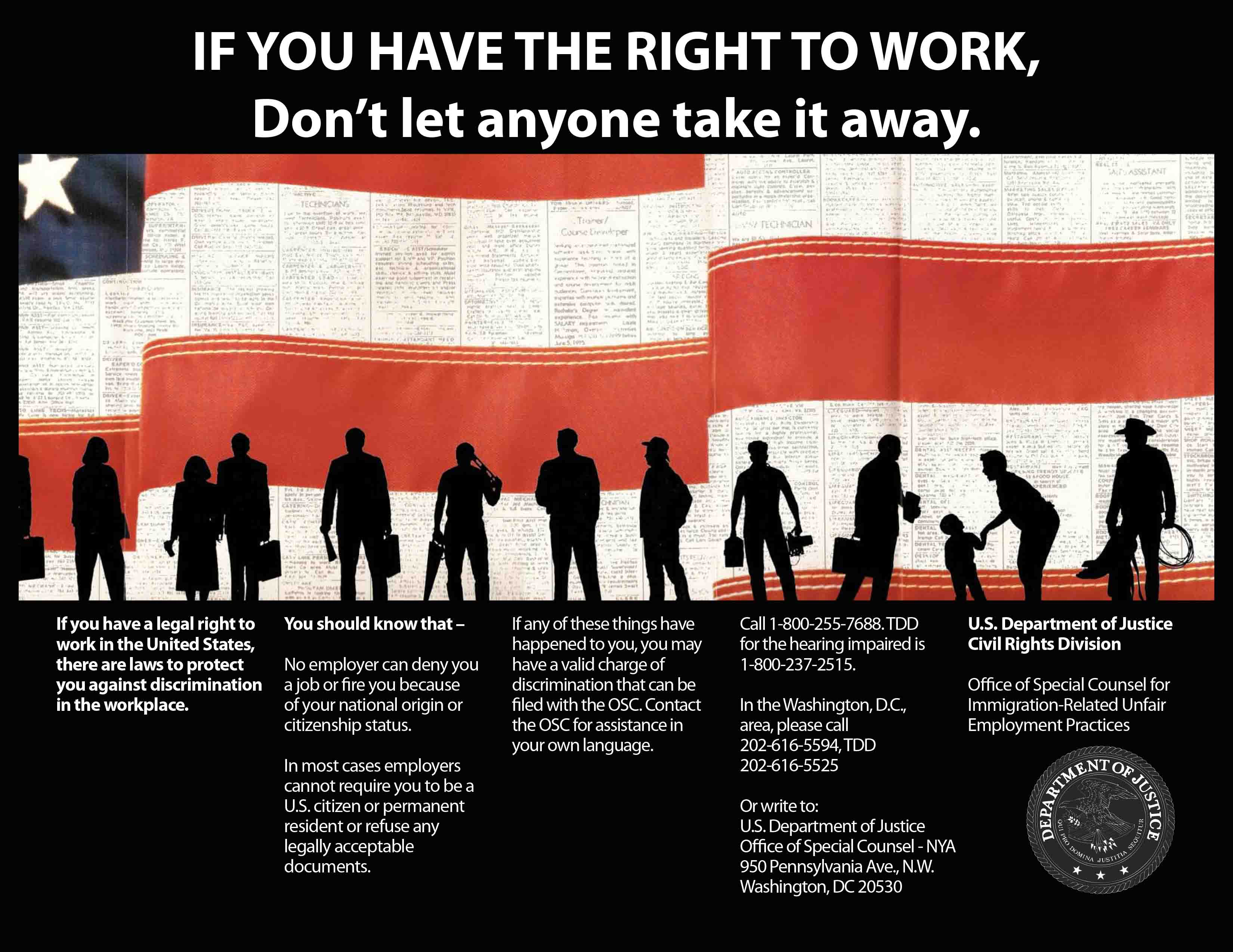 Right to Work Poster Thumbnail