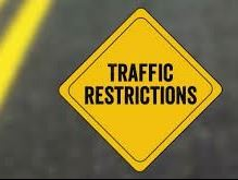 Traffic Restrictions Road Sign