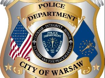 Warsaw Police Department Badge